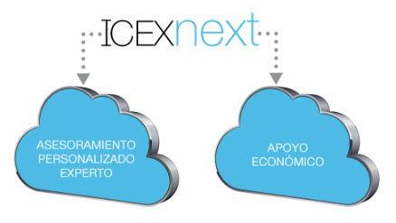 Infografía de ICEX para explicar ICEX Next